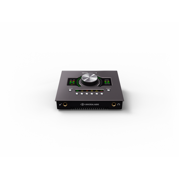 Universal Audio APOLLO Twin X Thunderbolt 3 Audio Interface W/UAD-2 DUO Core Processing