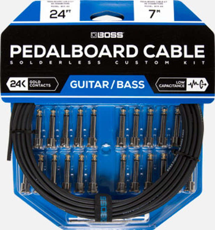 BOSS BCK24 - BOSS Pedalboard cable kit