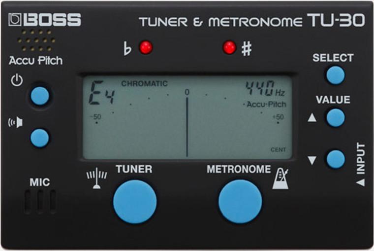 BOSS TU30 - Tuner & Metronome
