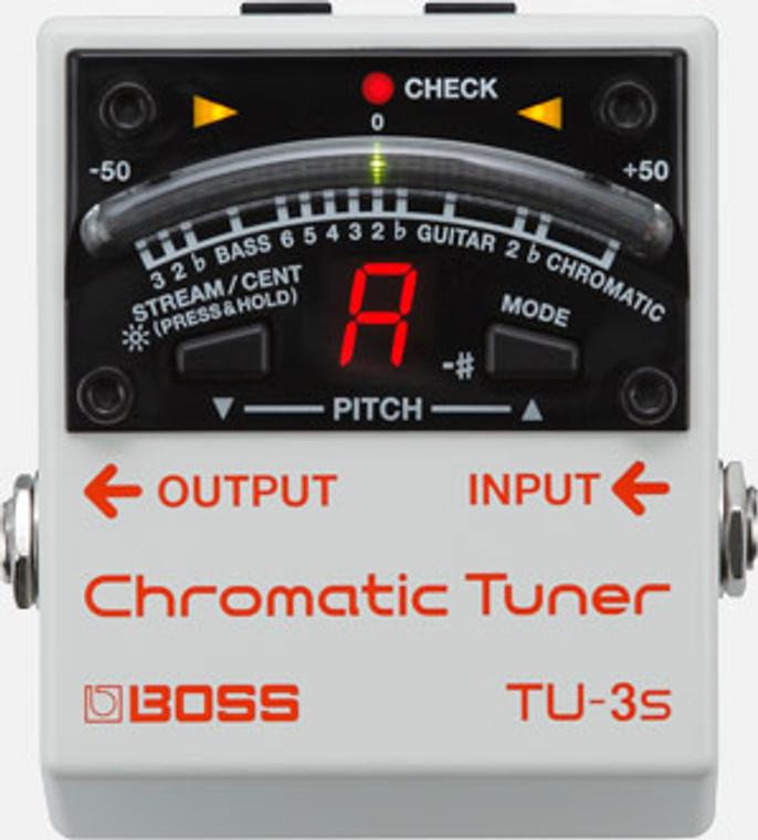 BOSS TU3S - Chromatic Tuner