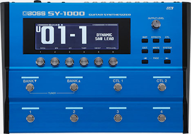 BOSS SY1000 - Guitar Synthesizer