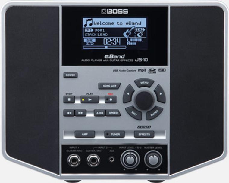 BOSS JS10 - Audio Player W/Guitar Effects