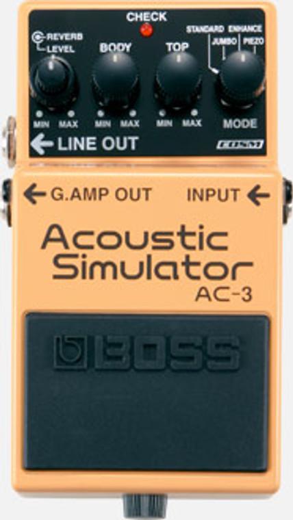BOSS AC3 - Acoustic Simulator