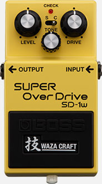 BOSS SD1W - Waza Craft Overdrive