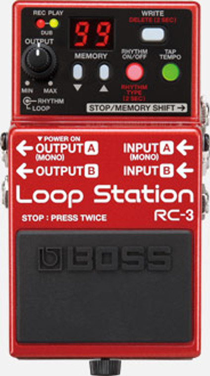 BOSS RC3 - Loop Station