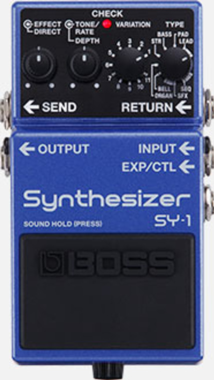 BOSS SY1 - Guitar Effects