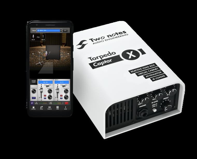 Two Notes Captor X Reactive Loadbox / Attenuator / Cab Simulator