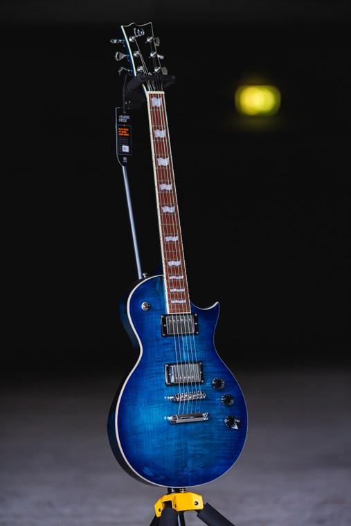 ESP LTD EC-256FM - See Thru Cobalt Blue