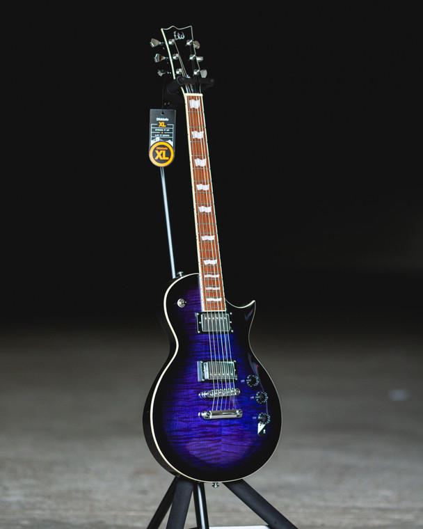 ESP LTD EC-256FM - See Thru Purple Burst