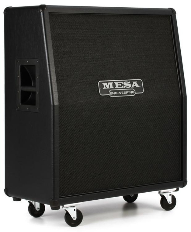 "MESA /BOOGIE 4 x 12"" RECTIFIER SLANT A SPEAKER CABINET Guitar World Qld Ph 07 55962588"