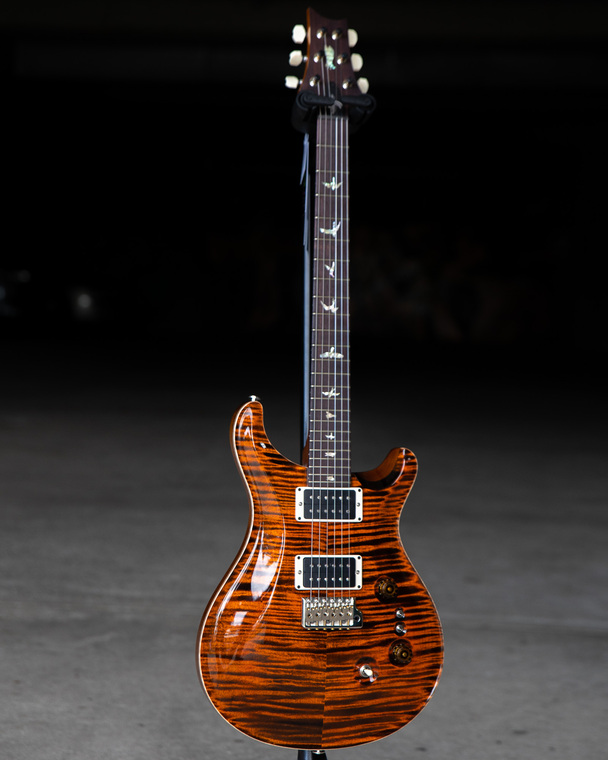 PRS Custom 24 - Orange Tiger