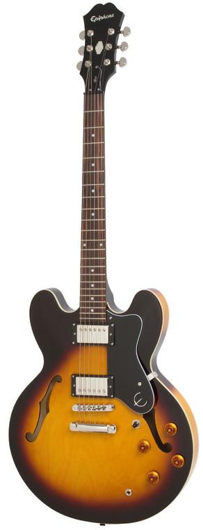 Epiphone Dot Vintage Sunburst Guitar World Qld Ph 0755962588