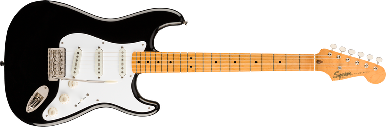 Squier Classic Vibe 50s Stratocaster, Maple Fingerboard, Black
