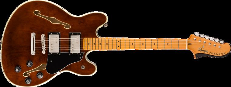 Squier Classic Vibe Starcaster, Maple Fingerboard, Walnut