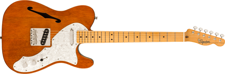 Squier Classic Vibe 60s Telecaster Thinline, Maple Fingerboard, Natural