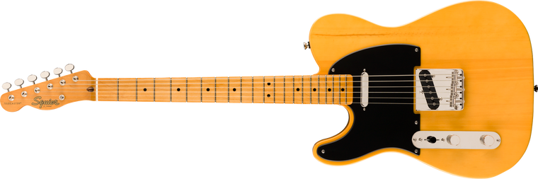 Squier Classic Vibe 50s Telecaster Left-Handed, Maple Fingerboard, Butterscotch Blonde