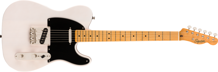 Squier Classic Vibe 50s Telecaster, Maple Fingerboard, White Blonde