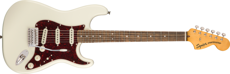 Squier Classic Vibe 70s Stratocaster, Laurel Fingerboard, Olympic White