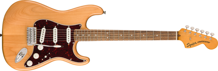 Squier Classic Vibe 70s Stratocaster, Laurel Fingerboard, Natural
