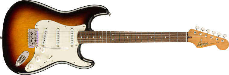 Squier Classic Vibe 60s Stratocaster, Laurel Fingerboard, 3-Color Sunburst