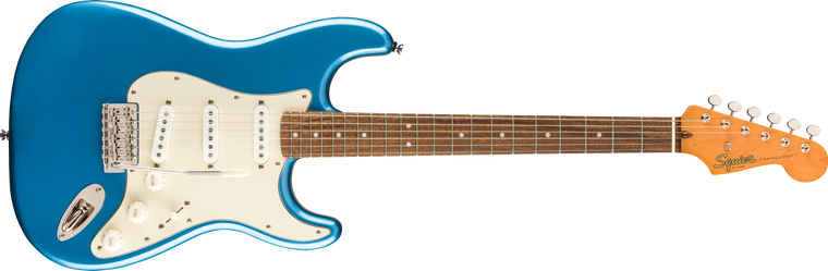 Squier Classic Vibe 60s Stratocaster, Laurel Fingerboard, Lake Placid Blue