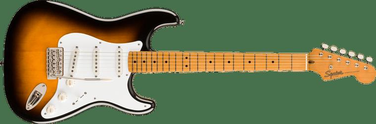 Squier Classic Vibe 50s Stratocaster, Maple Fingerboard, 2-Color Sunburst