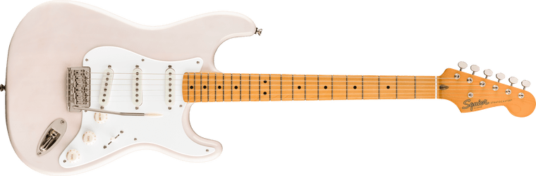 Squier Classic Vibe 50s Stratocaster, Maple Fingerboard, White Blonde