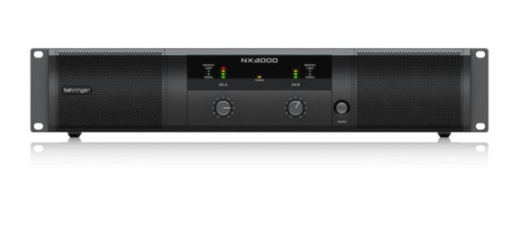 BEHRINGER NX3000 POWER AMPLIFIER W/SMARTSENSE