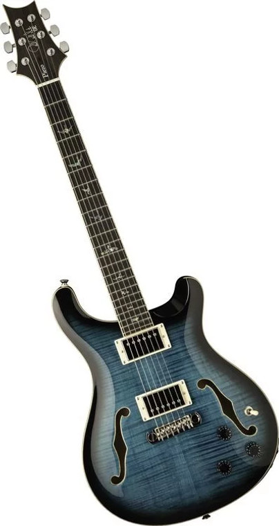 PRS SE Hollowbody II Piezo Electric Guitar - Peacock Blue