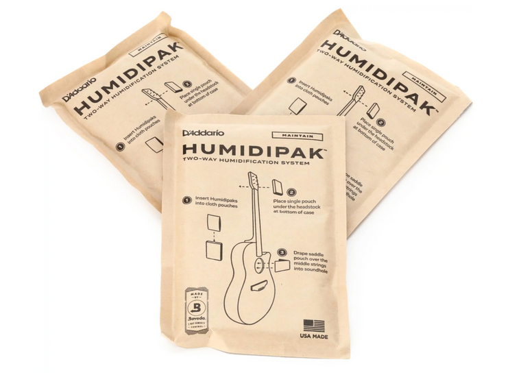 D'Addario Humidipak Maintain Replacement Packet (3-pack)