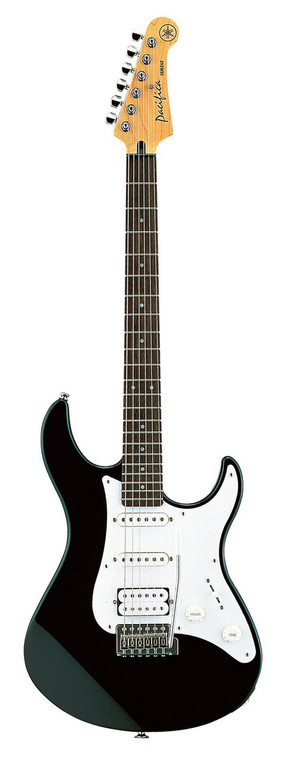 YAMAHA PAC112V Black Electric Guitar w/ Push-Pull Coil Tap Switch - Australia - Guitar World.com.au
