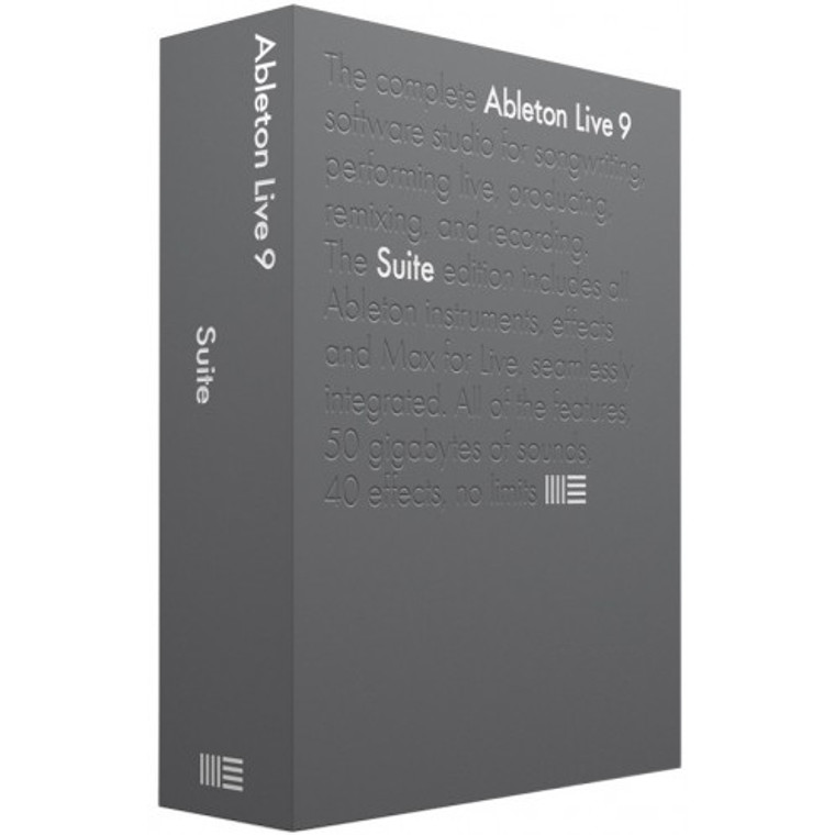 Ableton Live 9 Suite Music Creation Software