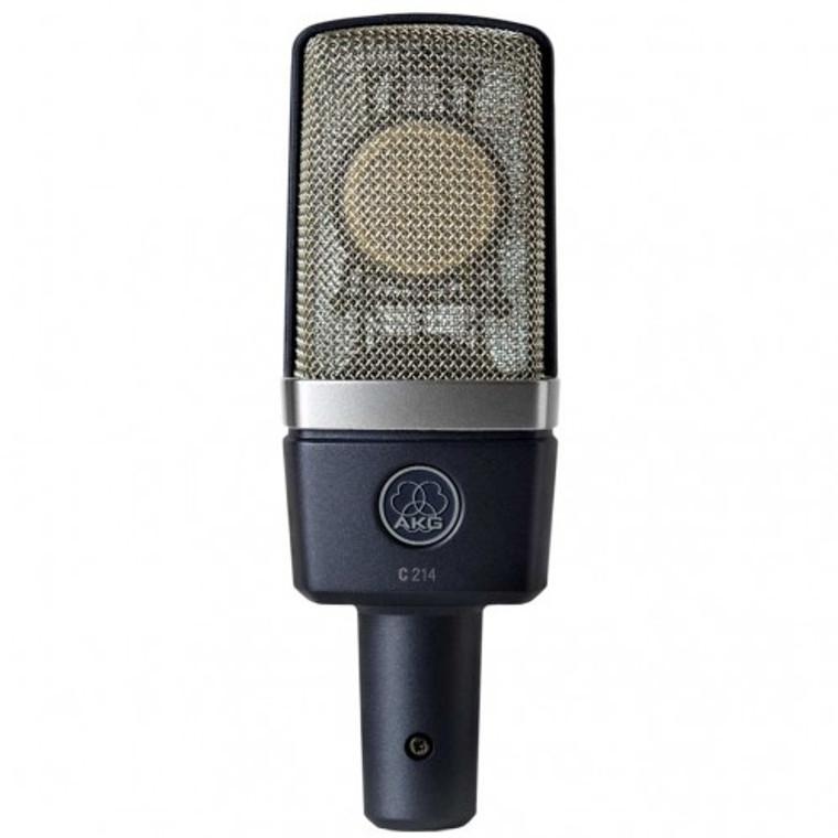 AKG C214 Large-diaphragm Cardioid Condenser Microphone