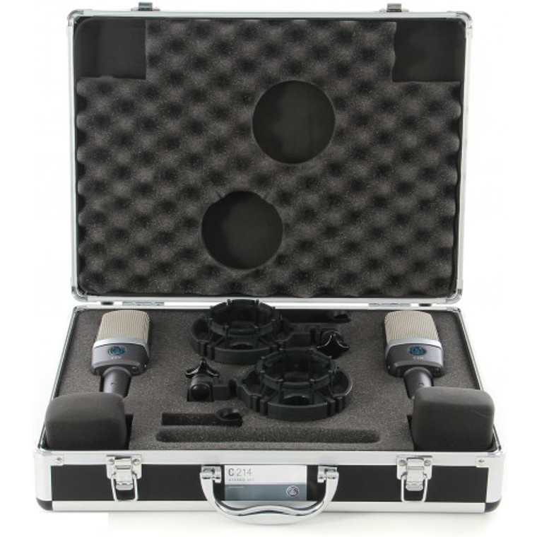 AKG C214ST Large-diaphragm Cardioid Condenser Microphone Matched Pair