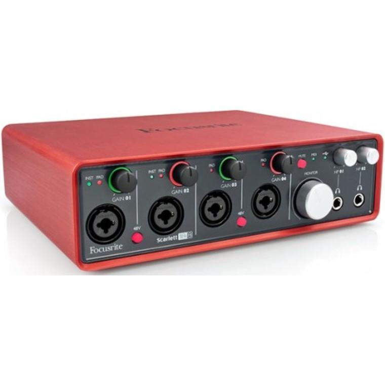 Focusrite Scarlett 18i8 18x8 Audio Interface Guitar World Australia Ph 07 55962588