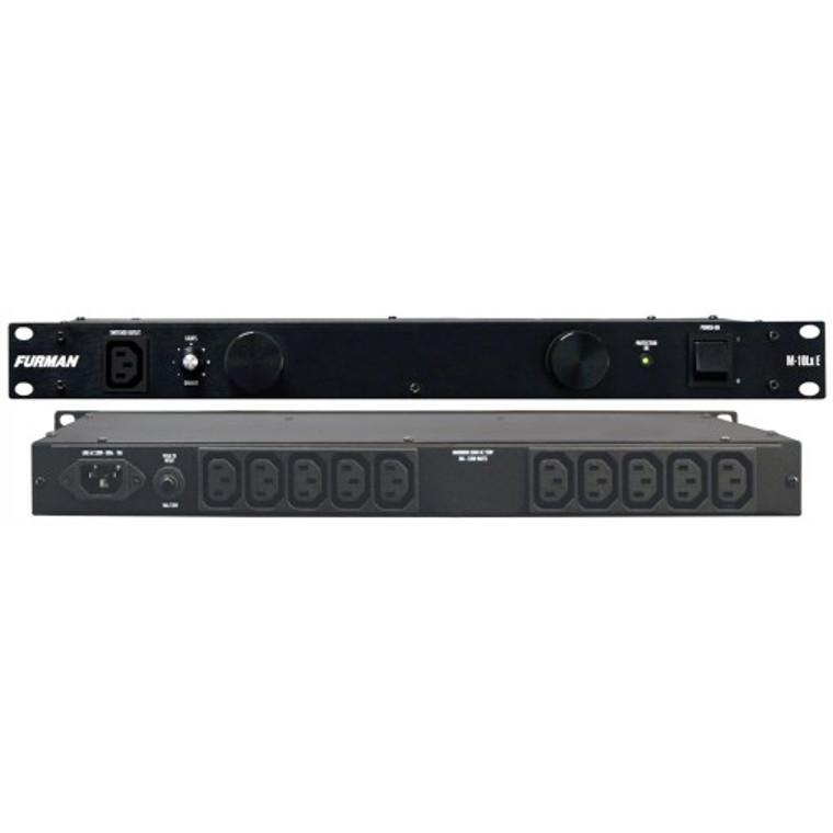 Furman M-10LXE Power Conditioner w/lights (sacrificial) (M10LXE)