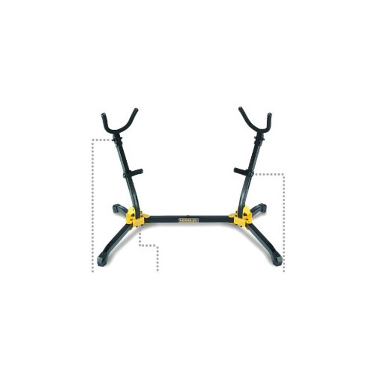Hercules Double Stand for Alto/Tenor Sax 05/DS537B