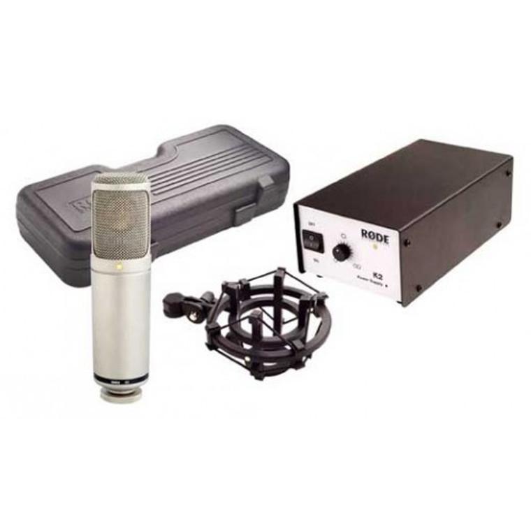 Rode K2 variable-pattern valve studio microphone (K-2)