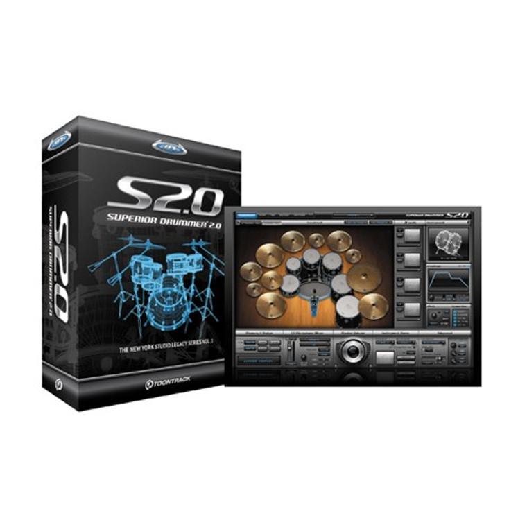 Superior Drummer 2.0 Virtual Drum Software