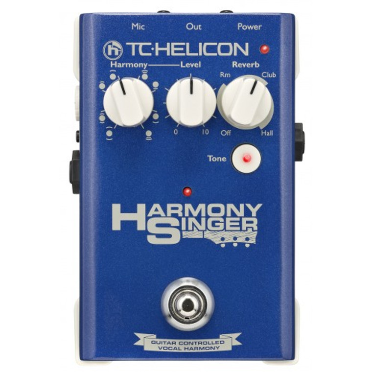 TC Helicon Harmony Singer Vocal FX Pedal