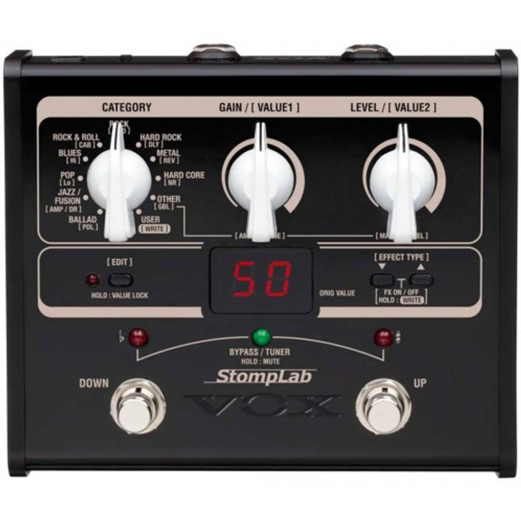 Vox StompLab GI Guitar Multi Effects Pedal
