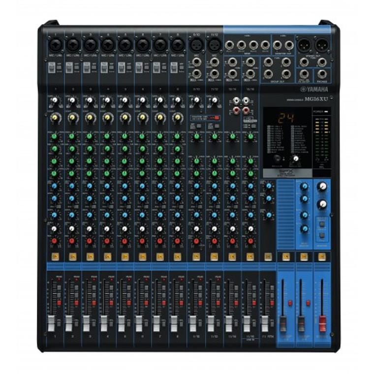 Yamaha MG16XU Mixer w/ Digital FX and USB