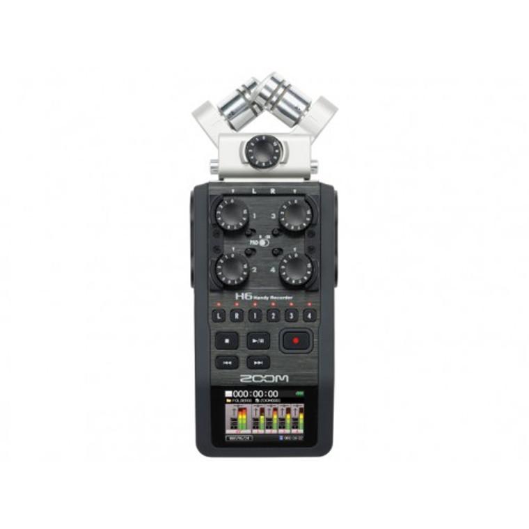 Zoom H6 multi-capsule portable recorder
