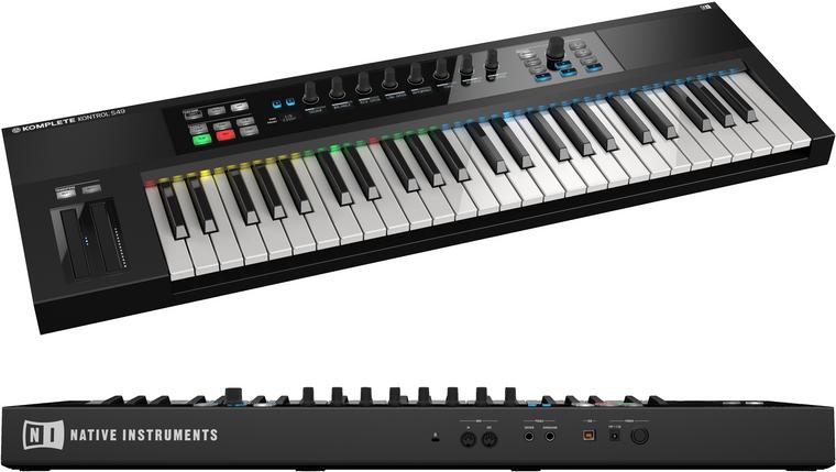 Native Instruments Komplete Kontrol S-Series S49 49 key Controller Keyboard Guitar World Australia Ph 07 55962588
