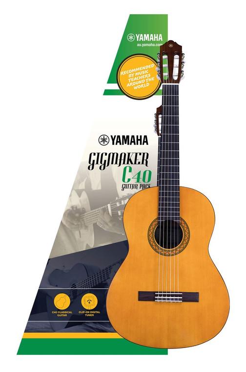 Yamaha Gigmaker C40 Classical Guitar Pack