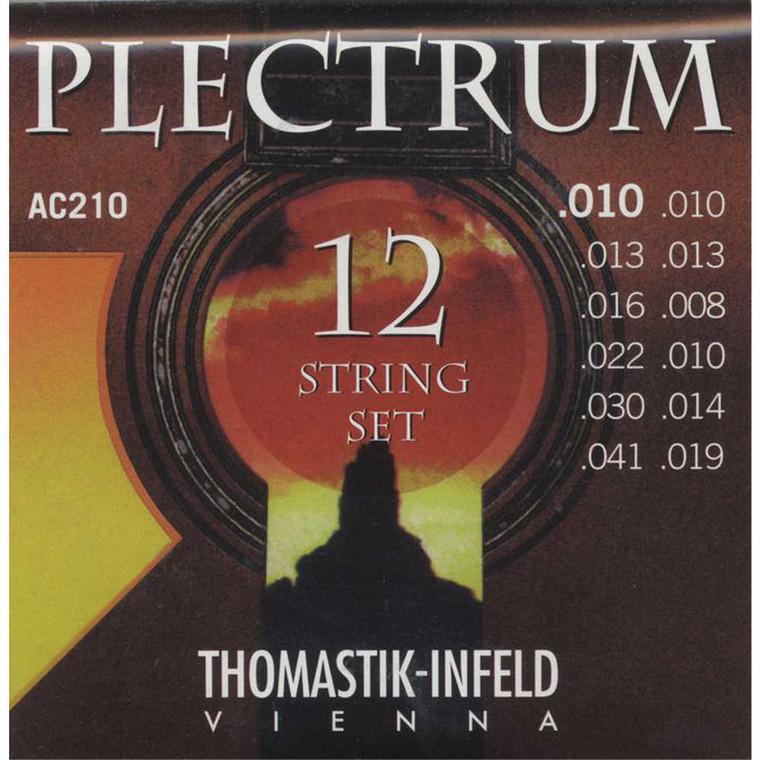 Thomastik, Plectrum, Bronze, Extra, Light, Acoustic, 12-String, Guitar, Strings