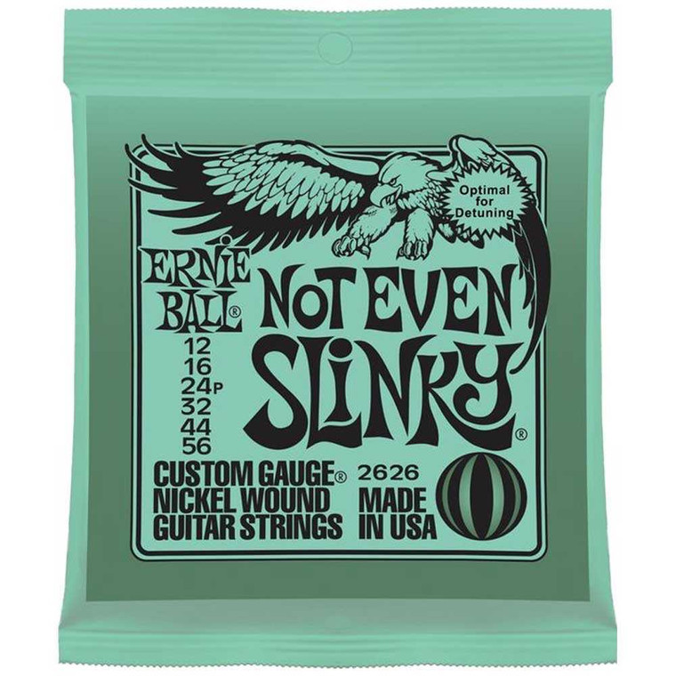 Ernie, Ball, 12-56, Not, Even, Slinky, Electric, Guitar, Strings