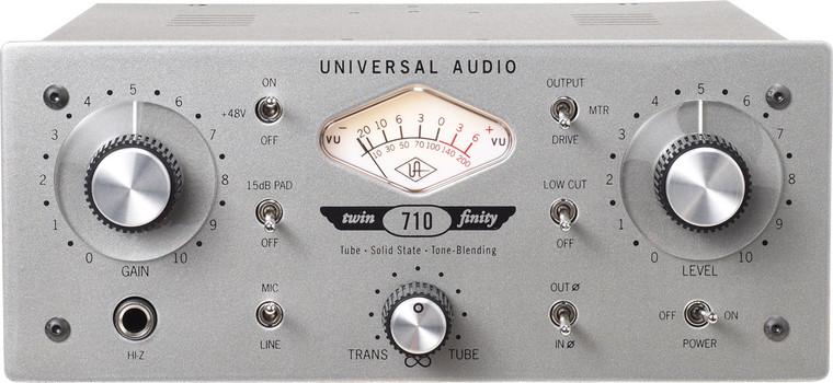 Universal Audio 710 Twin-Finity Single Channel Tube & Solid MI