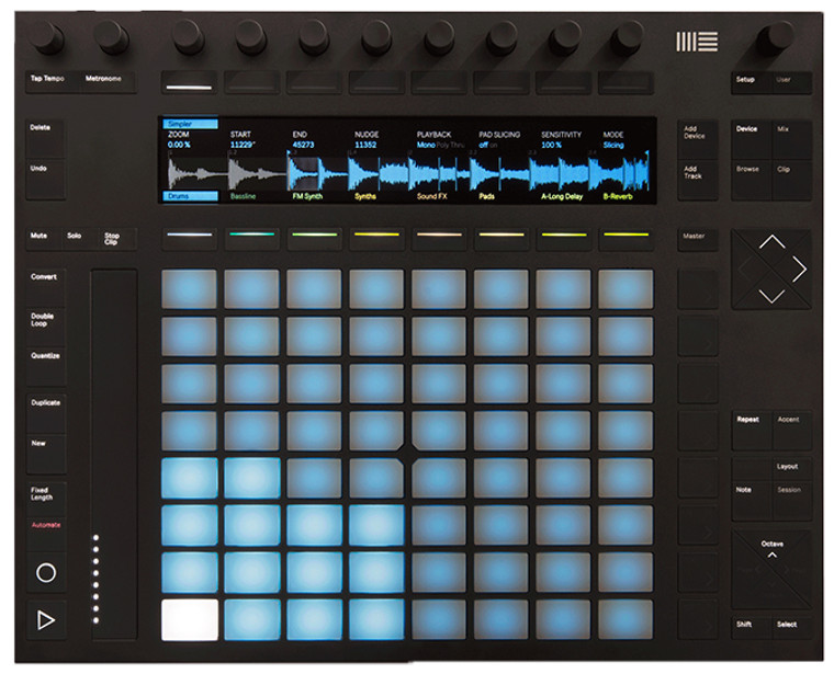 Ableton Push 2 Controller w/ Colour Display & Live 9 Intro
