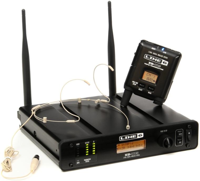 Line 6 XD-V75HS Digital Wireless Headset - Headset Tan